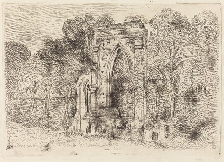 The Ruins of Netley Abbey