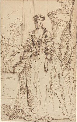 Portrait of a Standing Lady