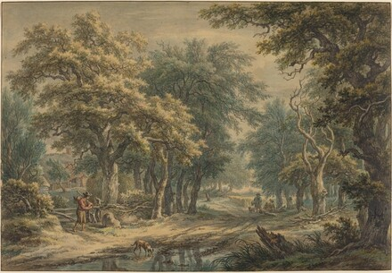 At Donderen, in the Woods of Drenthe