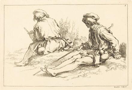 Seated Shepherd Boys