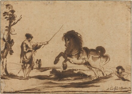 Landscape with the Taming of a Horse