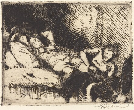 Going to Bed (Le coucher)