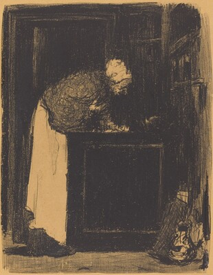 Old Woman at a Stove (Vielle Femme au Fourneau)