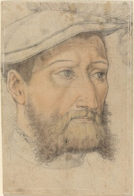 Portrait of a Bearded Man with a Beret