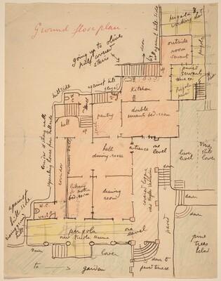 Ground Floor Plan for Torre Quatro Venti