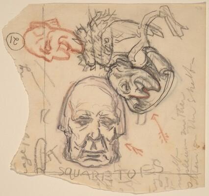 Self-Portrait: Caricatures