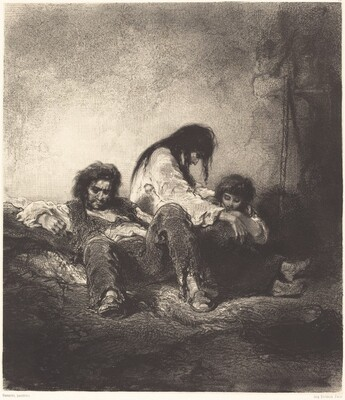 The Poor Family (Une famille pauvre)