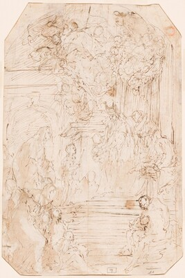Presentation of the Virgin in the Temple [verso]