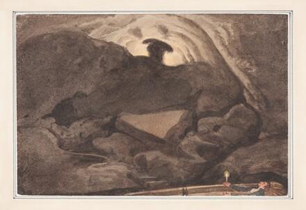 Scene in a Cave