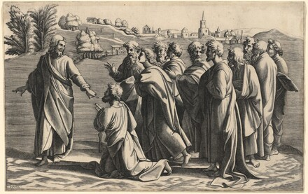 Christ Making Saint Peter Head of the Church