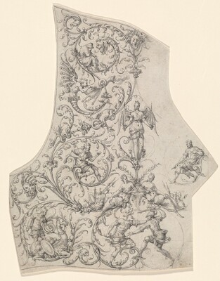 The Backplate of a Suit of Parade Armor