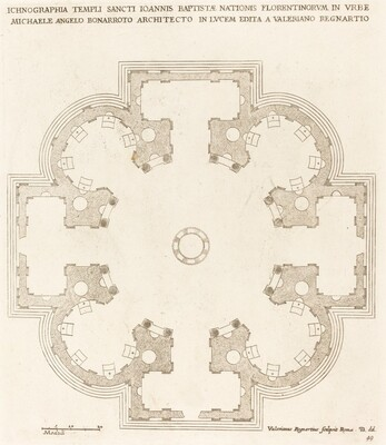 Ground Plan of the Church of Saint John the Baptist
