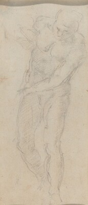 Male Nude [verso]