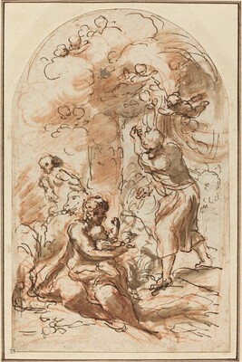 Study for the Madonna della Scodella [recto]