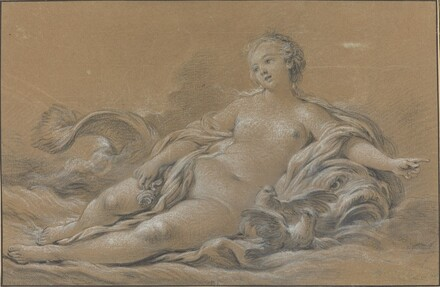 Venus Reclining on a Dolphin