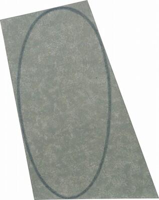 Grey Irregular Area with a Drawn Ellipse (model)