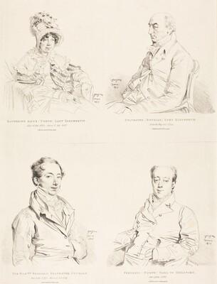 Sylvester (Douglas) Lord Glenbervie; Katherine Anne (North) Glenbervie; Frederic (North) Earl of Guilford; Frederic Sylvester Douglas