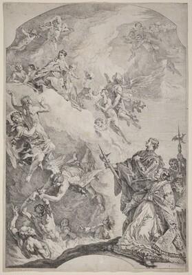 Saint Gregoire I Delivering Souls from Purgatory