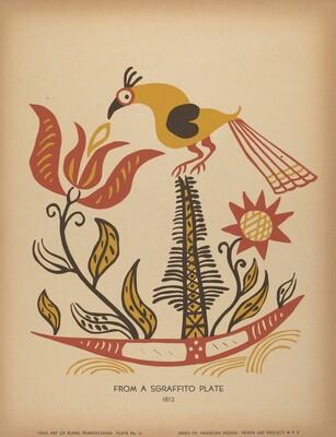 Plate 14: From the Portfolio Folk Art of Rural Pennsylvania