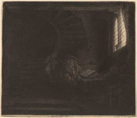 St. Jerome in a Dark Chamber
