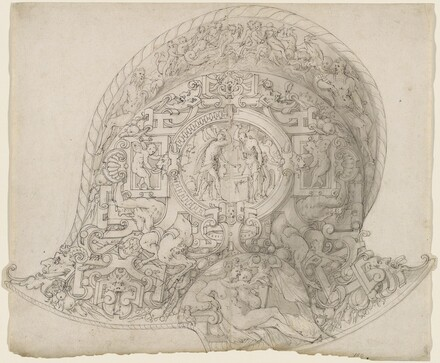 Design for a Morion-Burgonet Helmet