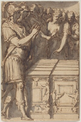 Alexander Consecrating the Altars for the Twelve Olympian Gods
