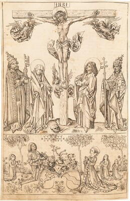 The Crucifixion with the Virgin and Saints and the Hungerstein Family