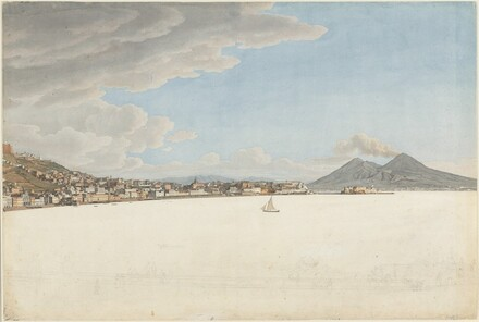 The Bay of Naples with Mounts Vesuvius and Somma