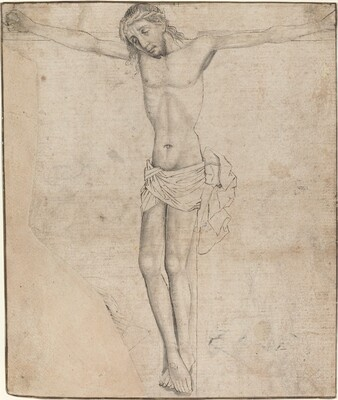 Christ on the Cross [recto]