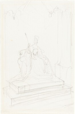 Study for Queen Victoria