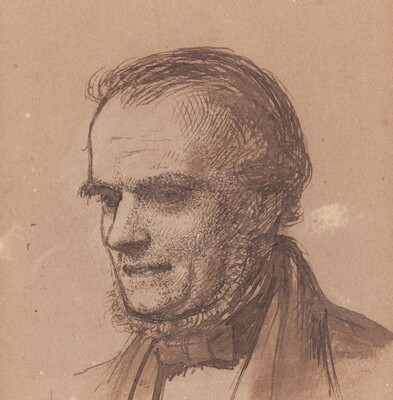 The Artist's Father, William Hunt