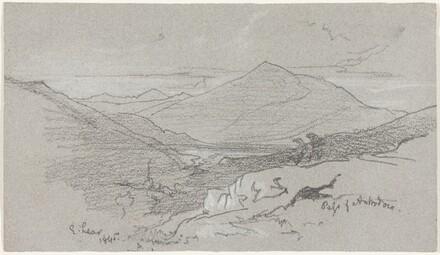 Mountainous View from Antrodoco