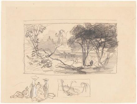 Sketches in Italy [recto]