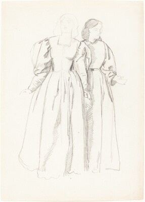 Study of Two Young Women [recto]