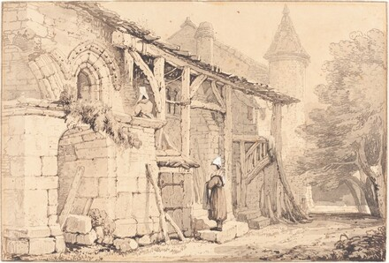 Scene at Jumièges