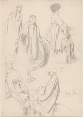 Studies of Men and Women in Medieval Dress