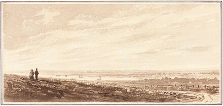 Figures Overlooking a Bay near the Mouth of the Paye, Lincolnshire