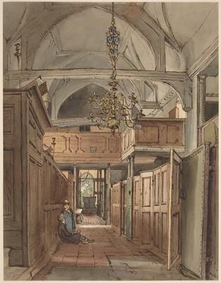Interior of Bushey Church