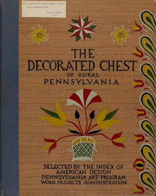 Cover for Proposed Portfolio Decorated Chests of Rural Pennsylvania