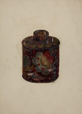 Toleware Canister