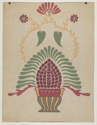 San Gabriel Mission Priest's Vestment from the portfolio Decorative Art of Spanish California