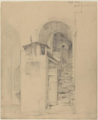 Ruined Stairs at Neuss