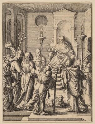 Jesus before Annas