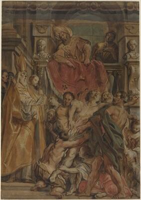 Saint Martin of Tours Healing the Servant of Tetrodius