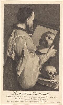 Portrait du Caravage (Portrait of Caravaggio)