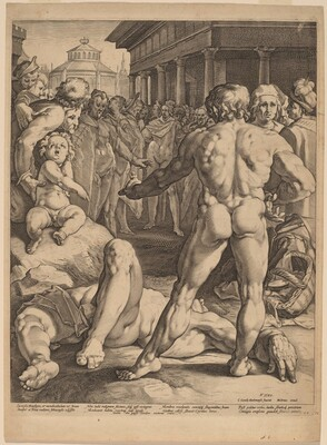 The Fight between Ulysses and Irus