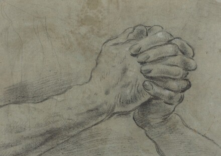 Clasped Hands [verso]