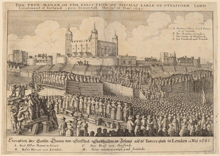 Execution of Thomas Wentworth