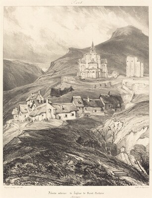 Abside de l'église de Saint-Nectaire