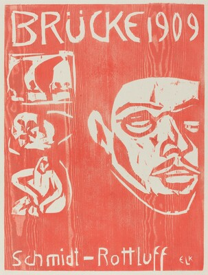 Cover of the Fourth Yearbook of the Artist Group the Brucke